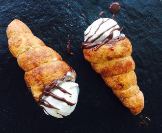 Churro Ice Cream Cones
