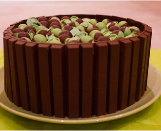 Mint Chocolate Aero Balls & Kit Kat Overload Layer Cake