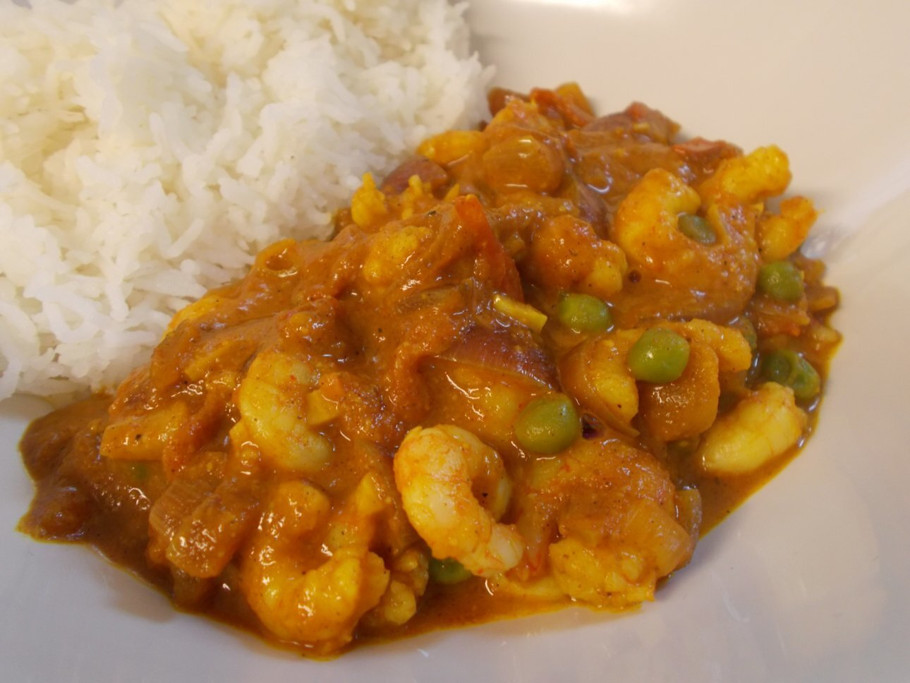 Prawn & Pineapple curry - mmmnn, fruity!