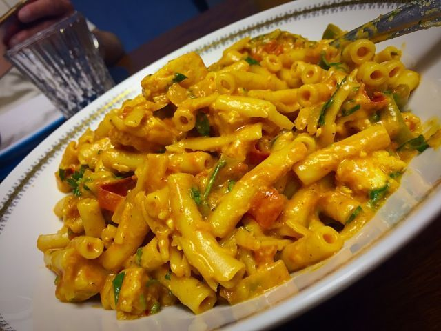 Paneer pasta / my version