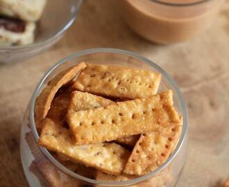 Wheat Crackers – Savory Snack for Diwali