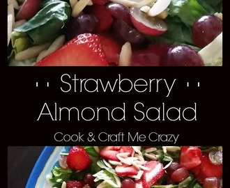 Strawberry Almond Salad
