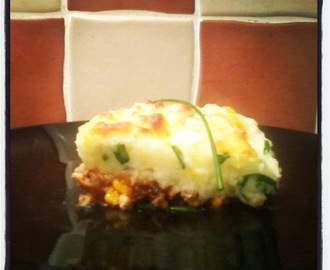 Shepherd's Pie with a Cheddar Chive Mash