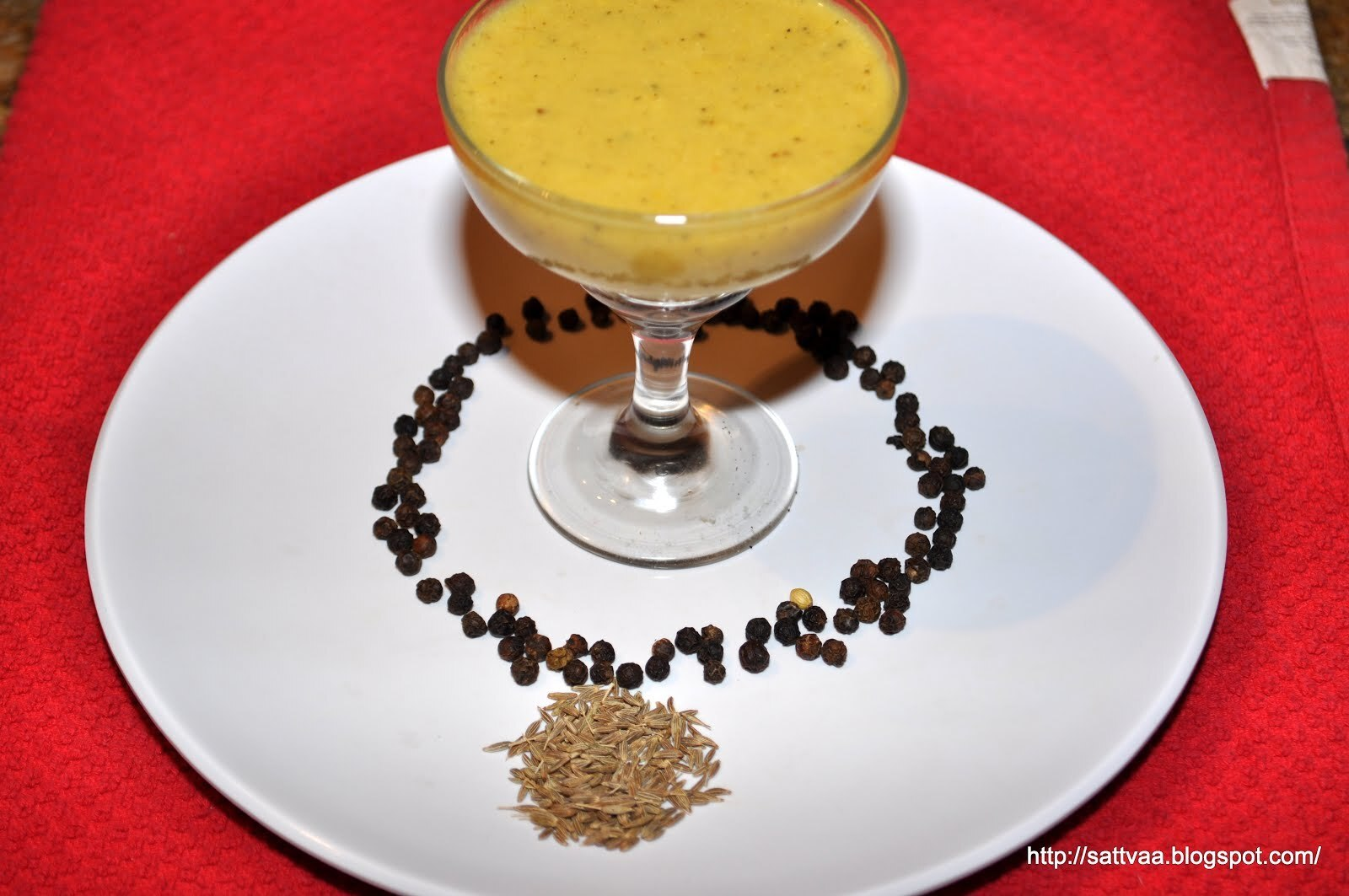 Menasina/mensin saaru (Pepper Rasam) - you don't need to be under the weather to enjoy this