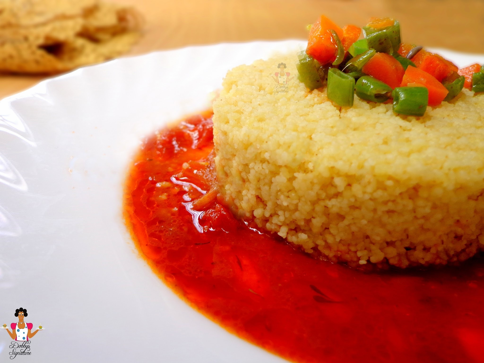 How to Make Nigerian Style couscous
