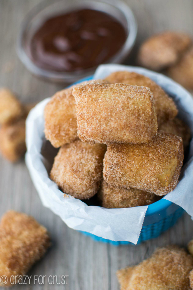 Easy Cinnamon Sugar Soft Pretzel Bites