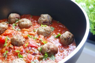 Clean Eating Pork, Garlic & Rosemary Meatballs