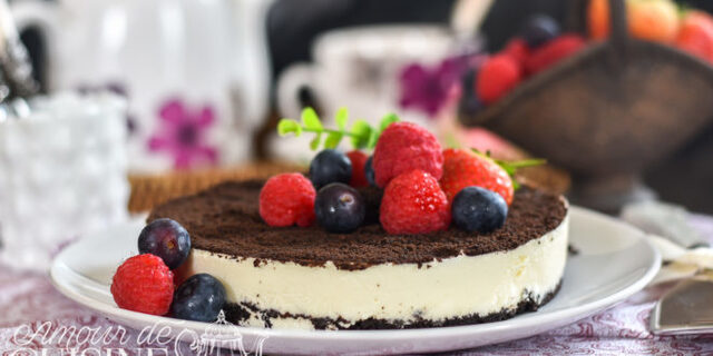 cheesecake oreo sans cuisson
