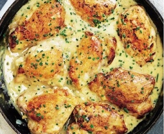 Mary Berry's Lemon Chicken with chives