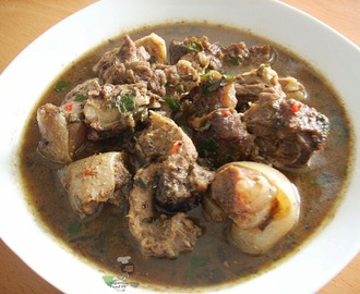 Nigerian Goat Meat Pepper Soup