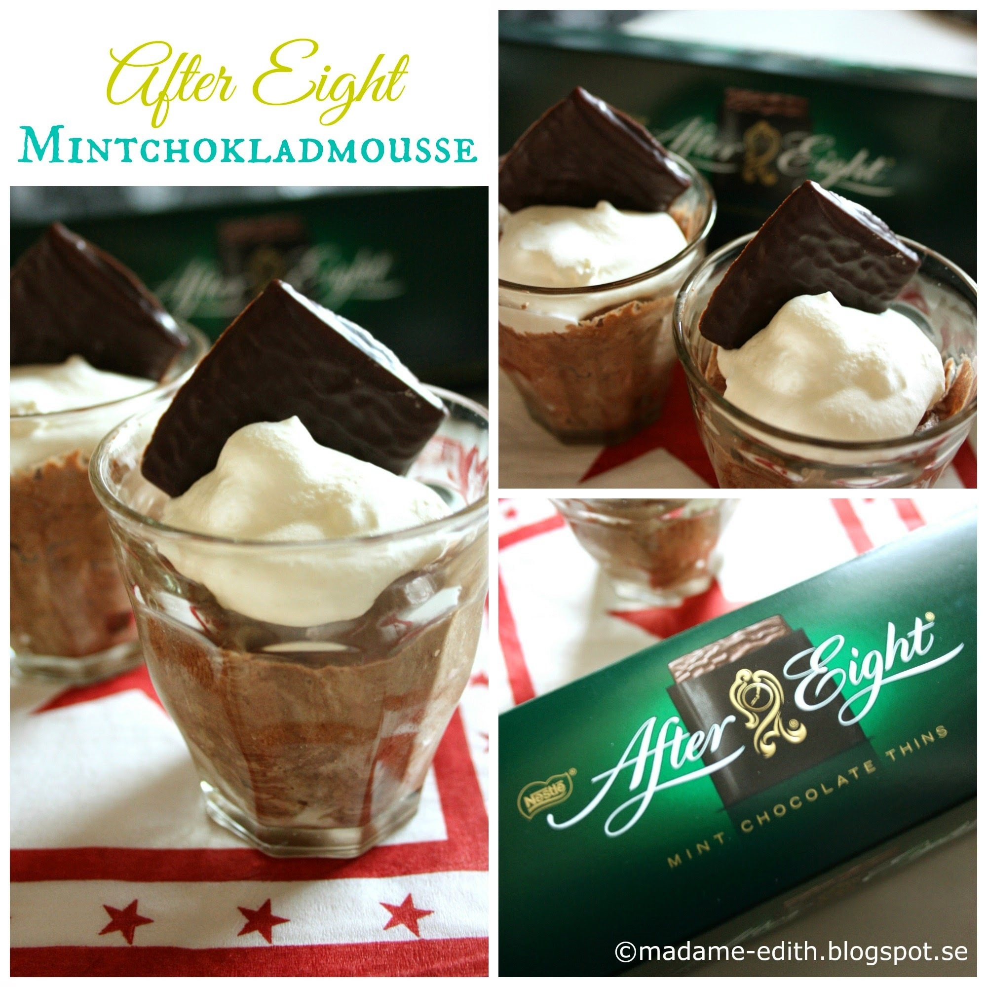 After Eight - Mintchokladmousse