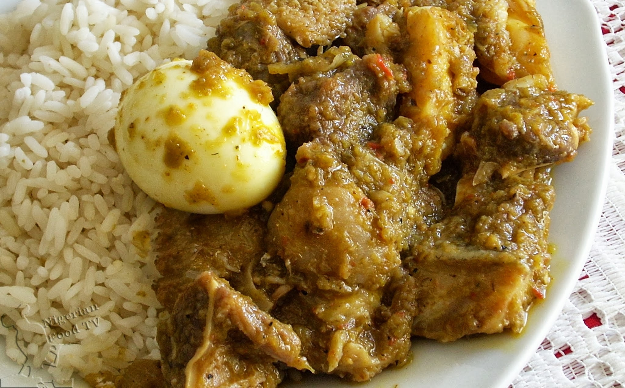 Ofada Stew (Ayamase) - The Designer stew