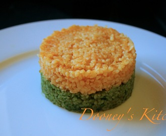 Carrot & Spinach Bulgar Wheat