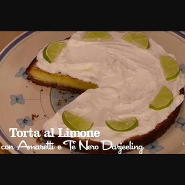 Torta Al Limone Con Amaretti E Tè Nero Darjeeling Di Benedetta