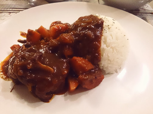 紅酒燴牛尾 - Stewed Oxtail in Red Wine