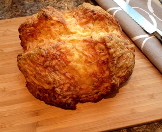 Cheddar Cheese and Onion Soda Bread