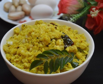 Jack fruit egg thoran / chakkakkuru mutta thoran