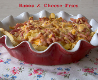 Bacon & Cheese Fries :Patatas al estilo Foster´s Hollywood