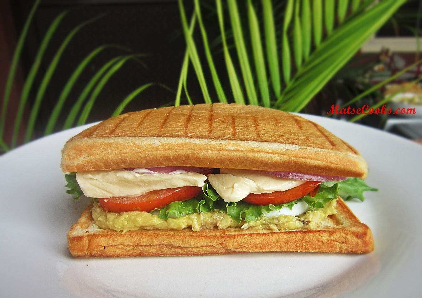 Breakfast Series: Avocado and Smoked Mackerel Sandwich