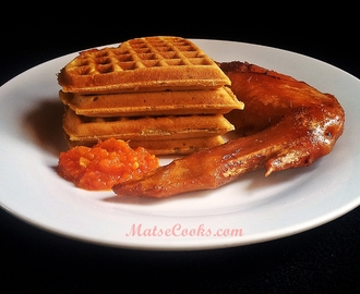 Breakfast Series: Sweet Potato Waffles de Kem