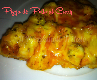 Pizza de Pollo al Curry
