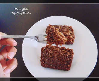 Dates Cake / how to make Easy Dates Cake