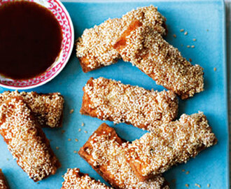 Sesame Prawn Toast - Dim Sum Ideas for Chinese New Year