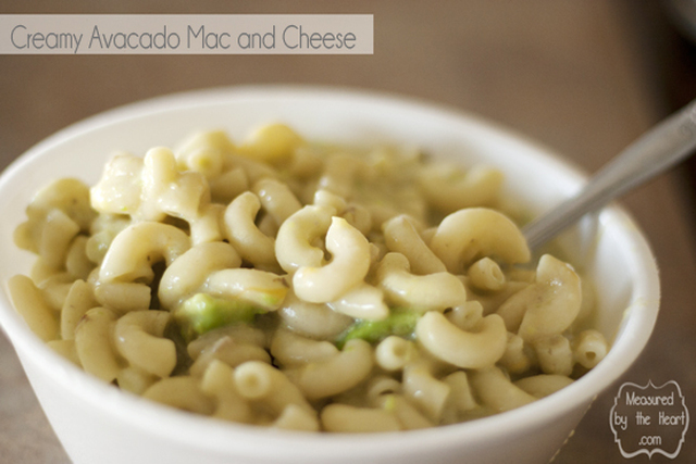 Creamy Avocado Mac and Cheese