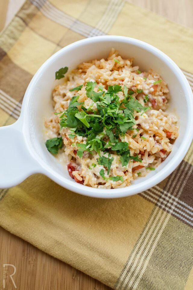 Vegan Mexican Rice with Galaxy Nutritional Foods Mexican Shreds