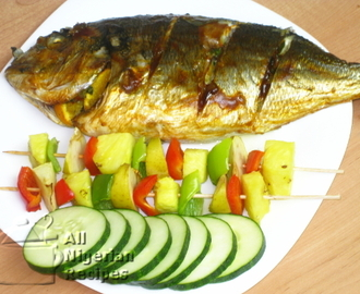 Grilled Tilapia (Grilled Fish)
