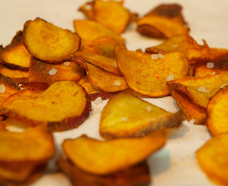 Baked Vegetable Crisps – Sweet Potato Crisps