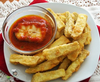 Yamarita | Dun Dun Oniyeri (Egg Coated Yam fries)