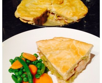 Creamy Chicken and Leek Pie Recipe