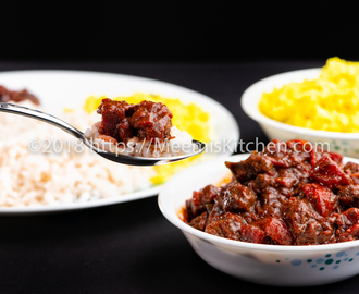 Beef and Beetroot curry, Beef with Beetroot - MeemisKitchen