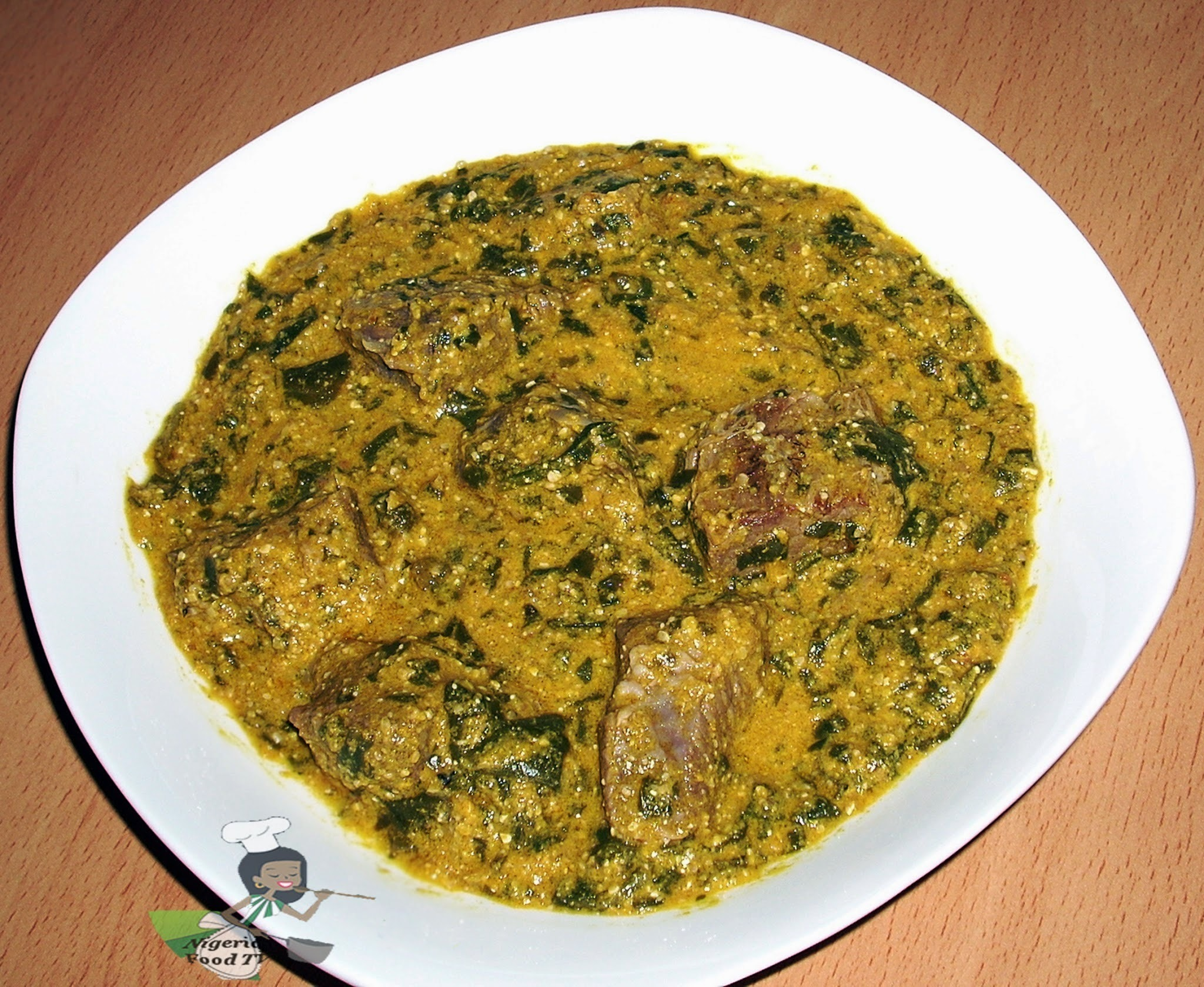 Ogbono and Egusi Soup : How to Cook Ogbono and Egusi Soup combo