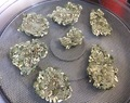 Green superseed raw crackers