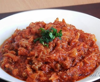 Minced Meat and Cabbage Stew