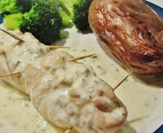 Chicken Breasts Stuffed with Roule