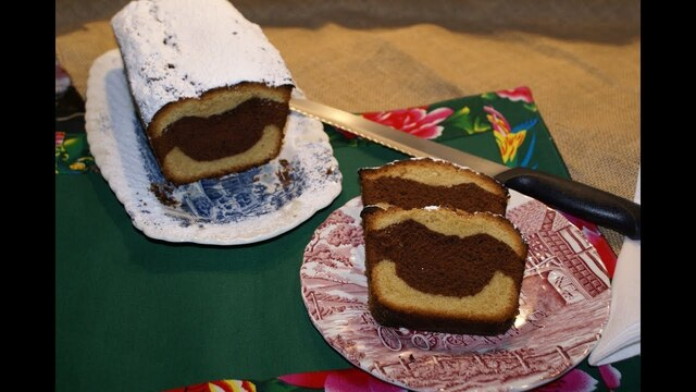 Plum Cake con Chocolate - YouTube