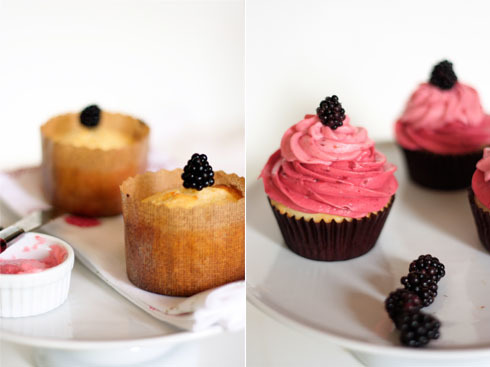 Favorite Recipe: Lemon Berry Cupcakes by Pâtisserie Natalie