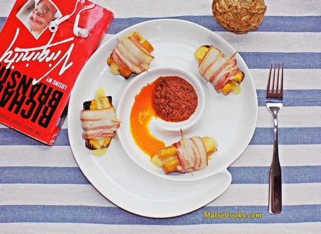 Boli Cheese bacon Wraps
