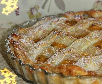 APPLE PIE CON RELLENO DE ORANGE CURD