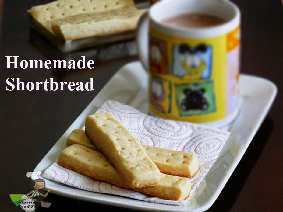 Homemade Shortbread Recipe (3-ingredients only)