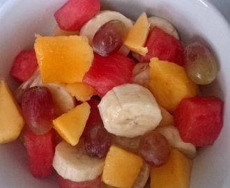 ORANGE BANANA WATERMELON FRUIT SALAD