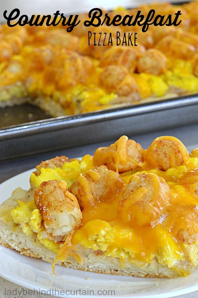 Country Breakfast Pizza Bake