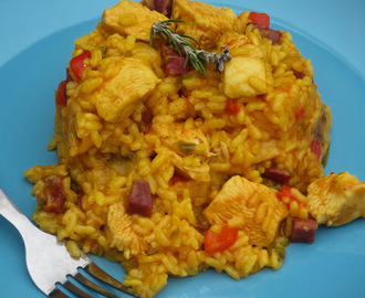 Arroz al chilindrón olla GM