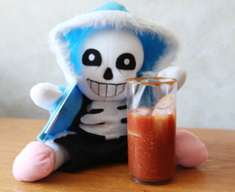 Undertale Cookbook - Sans' Ketchup Pick-Me-Ups
