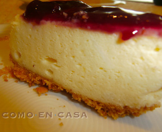 PASTEL DE QUESO (NEW YORK CHEESECAKE)