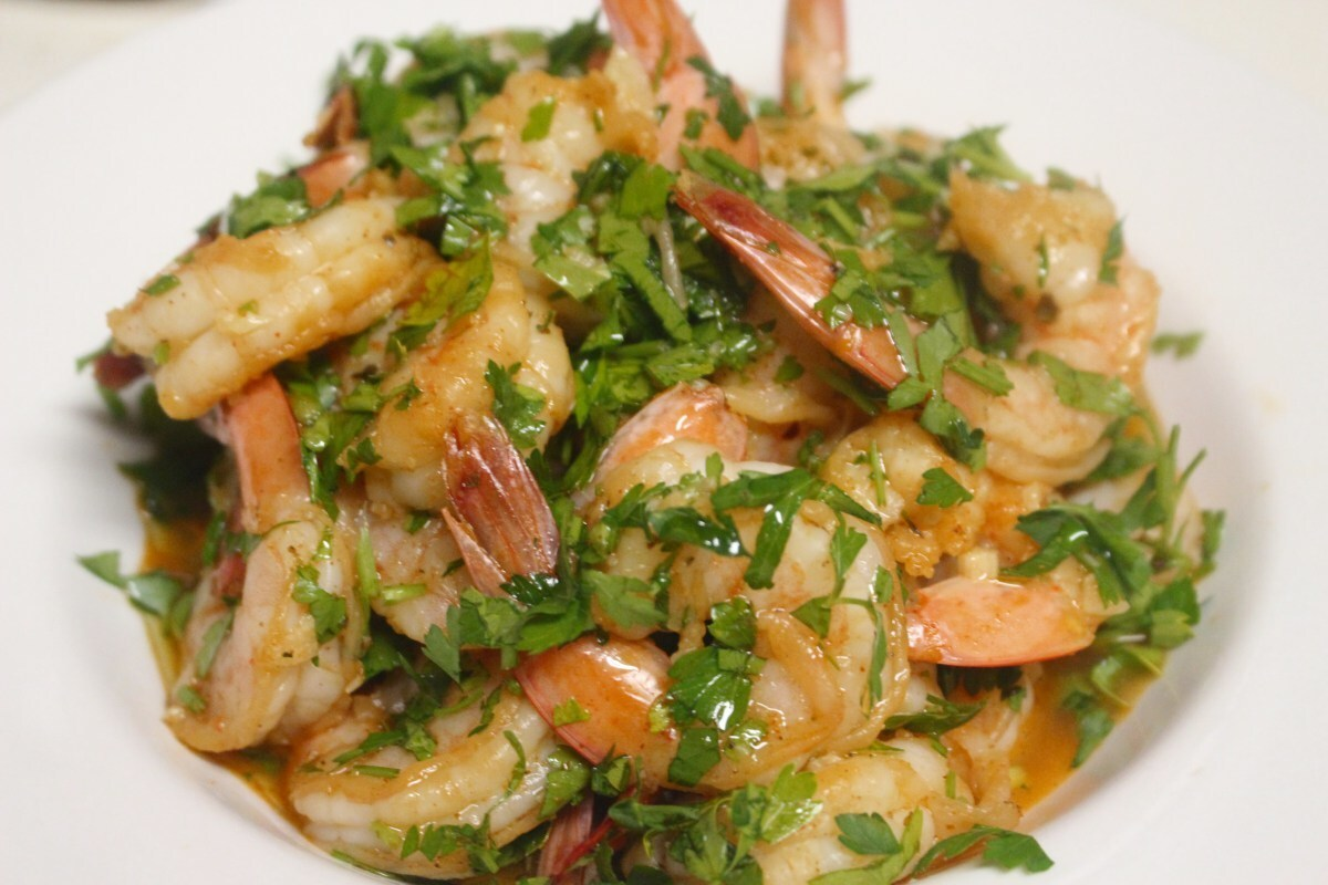 PK Herby Lemon Shrimp Salad