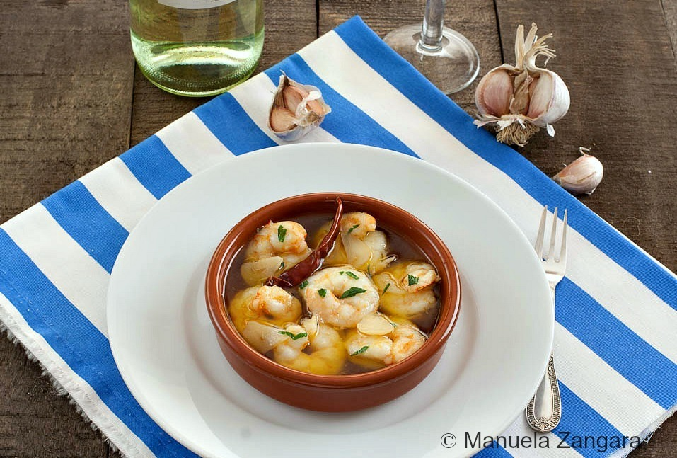 Go Spanish with Tapas, Spicy Prawns With Garlic and Chilli